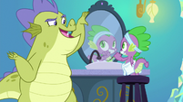 "Sludge ""since when do dragons brush"" S8E24"
