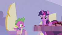 Spike --how are we gonna set things right--- S5E25