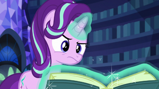 Starlight Glimmer thinking hard S6E21