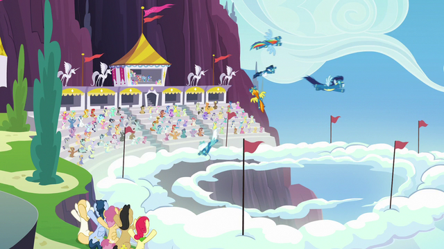 File:The Wonderbolts spiral through the sky S7E7.png
