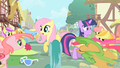 Twilight & Fluttershy flash mobbed S1E20.png