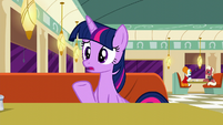 Twilight Sparkle --it wasn't going well-- S6E9