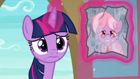 Twilight asks theatre ponies about Dusty S9E5