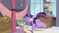 Twilight having trouble landing S4E01