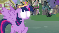 Twilight with glowing eyes S4E01
