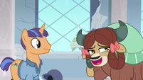 Yona in deep admiration of Rockhoof S8E21