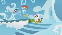 Young Rainbow says hi to Gilda S5E8
