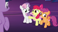 "Apple Bloom ""we're being called by the Map?"" S8E6"