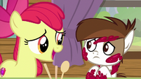"Apple Bloom ""we didn't say that"" S7E21"