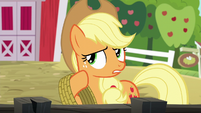 "Applejack ""just couldn't let those spa ponies"" S6E10"