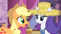 Applejack 'Because you would never dress like that' S4E13.png