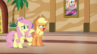 Applejack resolves to find a different friendship problem S6E20