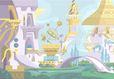 Canterlot Castle background 2