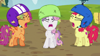 Cutie Mark Crusaders --they're not your carts!-- S6E14