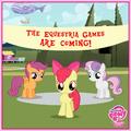 Cutie Mark Crusaders Equestria Games promo.png
