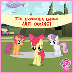 Cutie Mark Crusaders Equestria Games promo