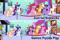 FANMADE Sidekicks-Games scene comparison