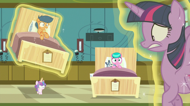 File:Flurry Heart levitates First Base's hospital bed again S7E3.png