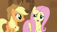 "Fluttershy ""just happy to be with all of you"" S7E2"