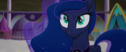 Luna listening to Celestia's instructions MLPTM
