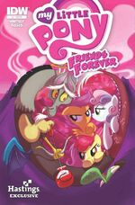 MLP Friends Forever Issue 3 Hastings Exclusive Cover