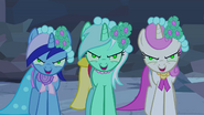 Minuette, Lyra Heartstrings and Twinkleshine brainwashed 3 S2E26