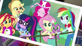 Photograph of Equestria Girls on rope bridge EG4.png