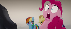 Pinkie Pie gasping with complete shock MLPTM