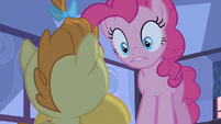 Pinkie Pie not taking chances S2E13