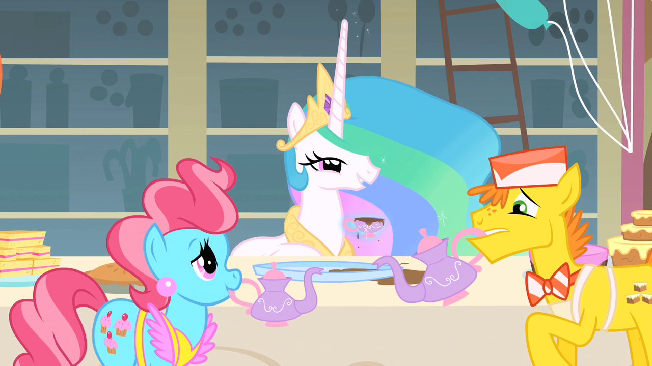 Personality Celestia Talking To Twilight In The
