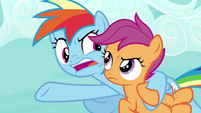 "Rainbow ""drop out for the Washouts!"" S8E20"