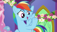 "Rainbow ""when has Twilight not had a plan"" S7E1"