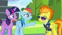 "Rainbow Dash ""let's not get carried away"" S6E24"