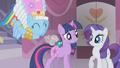 Rainbow Dash cuddles a Parasprite S01E10.png