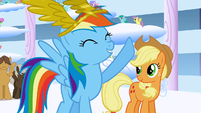 Rainbow Dash says -Best day ever!- again S1E16