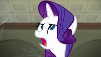 "Rarity ""what in the name of Celestia"" S6E9"