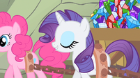 Rarity wrapped around my hoof S1E19