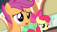 Scootaloo correcting herself S4E19