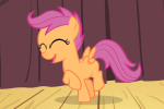 Scootaloo table