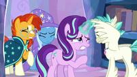 Starlight Glimmer slowly opens her eyes S9E11