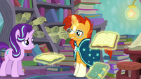 Sunburst opens up Flash Prance's Fellowship S6E2