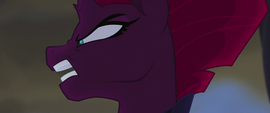 Tempest Shadow on the attack MLPTM