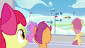 The Wonderbolts begin their performance S7E7.png