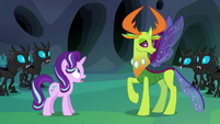 Thorax's new form revealed S6E26