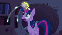 Twilight's magic charged S4E26
