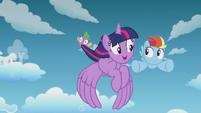 Twilight --I've seen you do it!-- S5E25