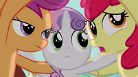 Apple Bloom -I don't want them laughing- S4E15