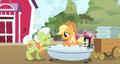 Applejack in a bath S3E8.png