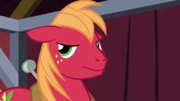 Big Mac doesn't look happy S5E17