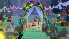 Bright Mac and Pear Butter getting married S7E13